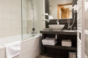 Salle de bain Hôtel Le Crêt